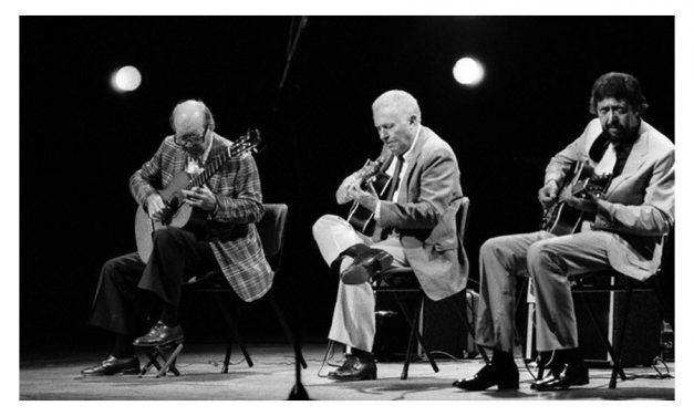 Barney Kessel, Charlie Byrd and Herb Ellis – 1982